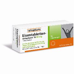 EISENTABLETTEN RATIO N50MG